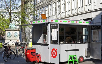 DOP hot dogs Copenhagen